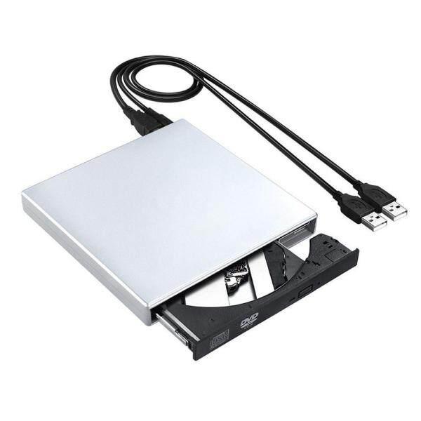 Rodeal USB 2.0 External CD Drive, External Disc Drive,Portable Slim External DVD Drive,CD DVD /-RW ROM Rewriter Burner Writer/Player For Laptop PC MAC Windows 7/10/XP/Vista