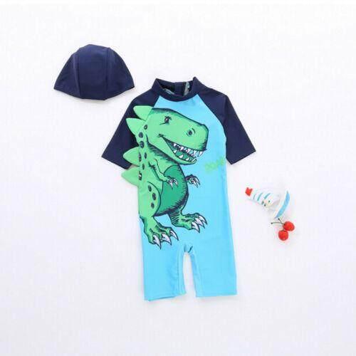 2pcs Baby Kids Boys Sun Protective Swimwear Rash Guard Costume Bathing Suits By Sugarbabies.