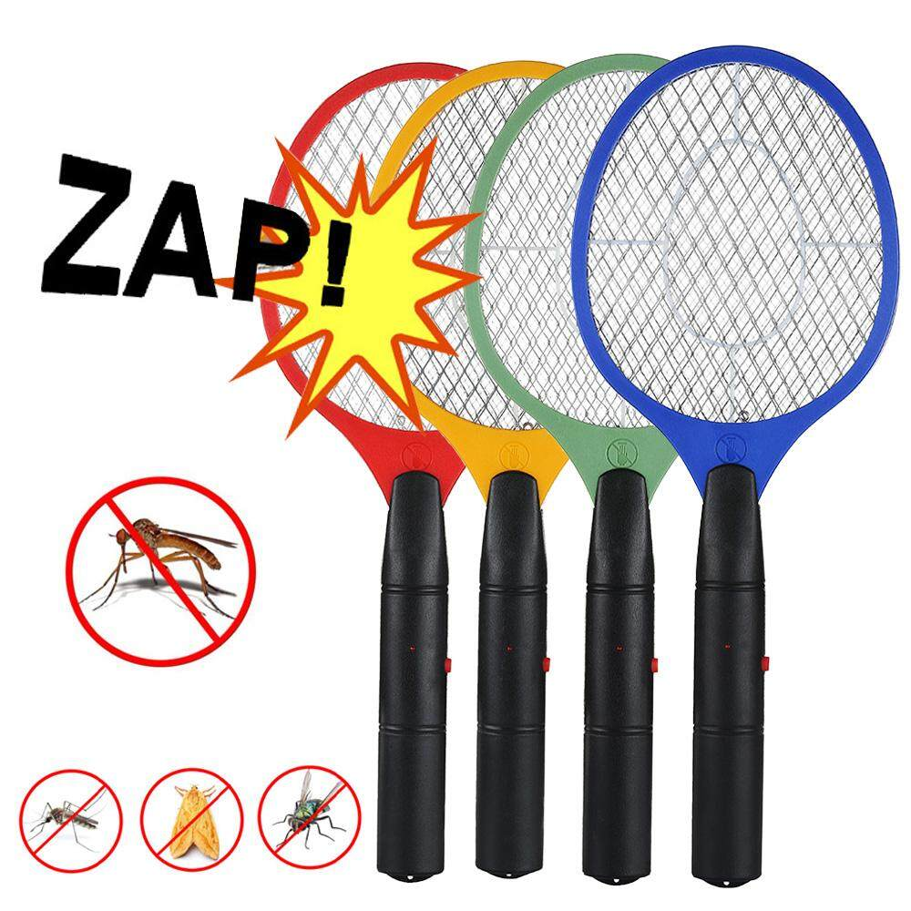Swatter Zapper Racket Rechargeable LED Electric Bug Pest Fly Mosquito Killer
