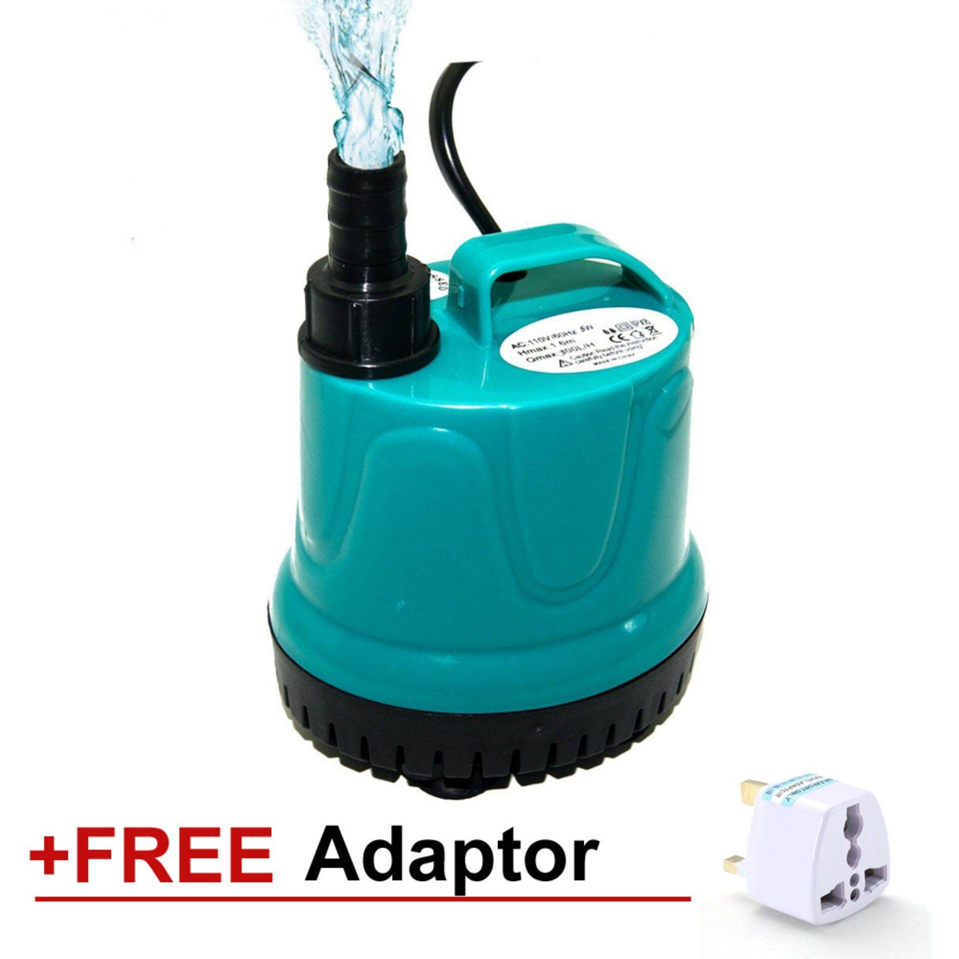 125W 5000L/H Submersible Water Pump Aquarium Fish Tank Garden