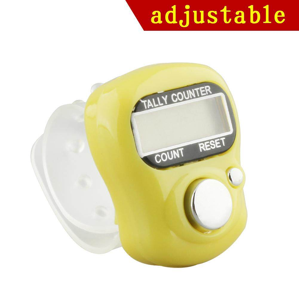New Adjustable Digital LCD Electronic Hand Finger Tally Counter For Golf Dock Singapore