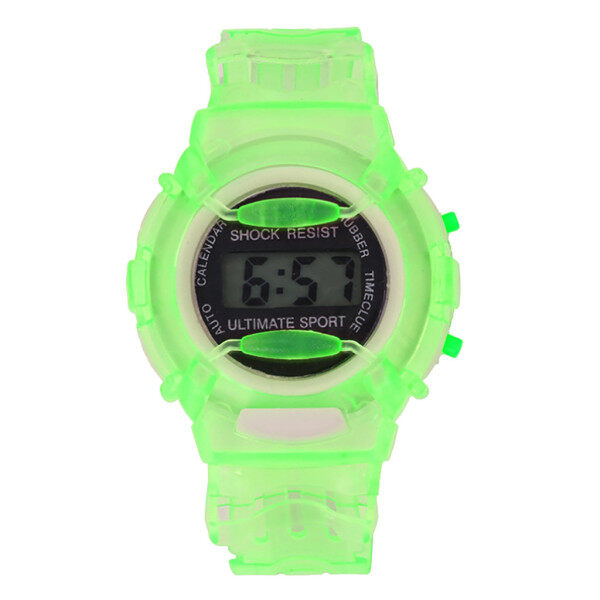 Boys Girls Children Students Waterproof Digital Wrist Sport Watch Malaysia