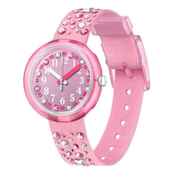 Flik Flak MILLEFEUX Girls Pink Watch Case size 31.85mm FPNP074 Malaysia