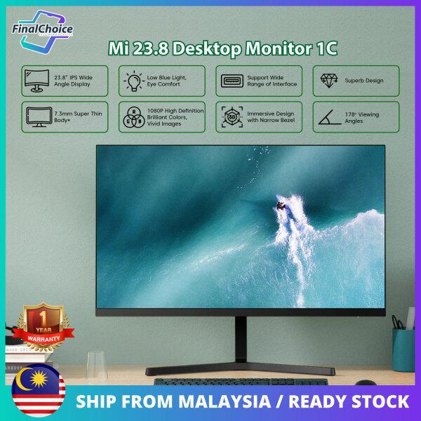 Xiaomi 23.8 Desktop Monitor 1C 7.3mm Super Slim Body Low Blue Light Malaysia