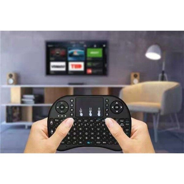 2.4G Wireless Standard/Colourful Mini Keyboard & Touchpad For Smart TV/Notebook/TV Box (Lithium Battery)  迷你键盘 Malaysia