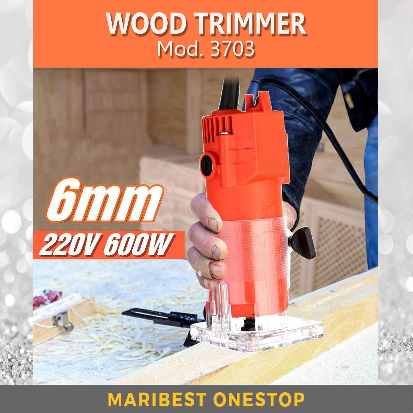 MIP-3703 Electric Hand Trimmer Wood Laminate Palm Router Tool Machine 200V