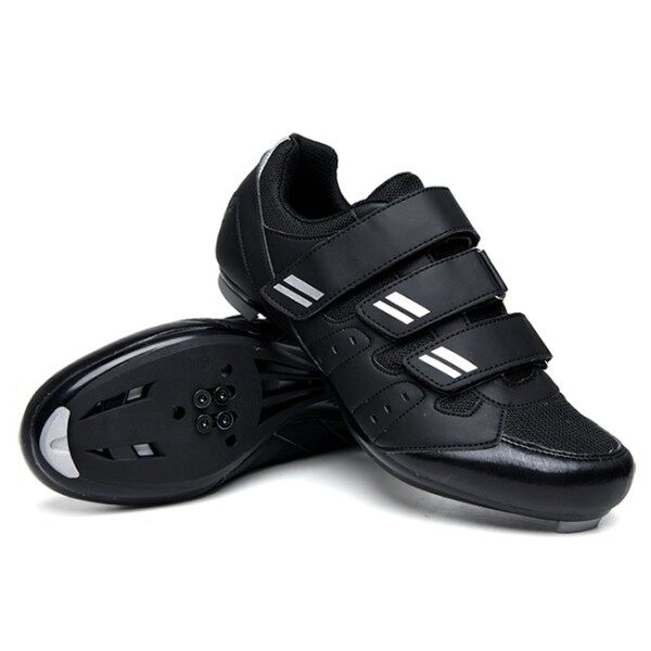 Giày Đi Xe Đạp Chuyên Nghiệp Mới Giày Xe Đạp Nam Nữ Thiết Kế Buộc Dây Tự Động Giày Đi Ngoài Trời Kích Thước 35-45