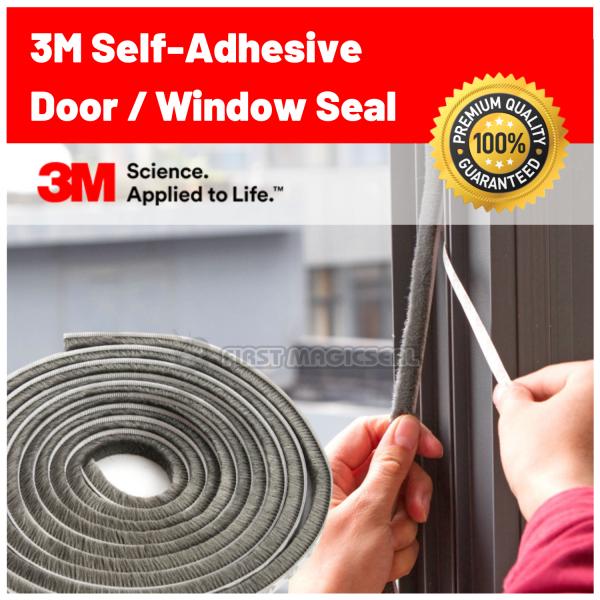 1stMagicSeal - Custom Length 3M Self-Adhesive Brush Pile Seal Door Draught Excluder Brush Wardrobe Soundproof