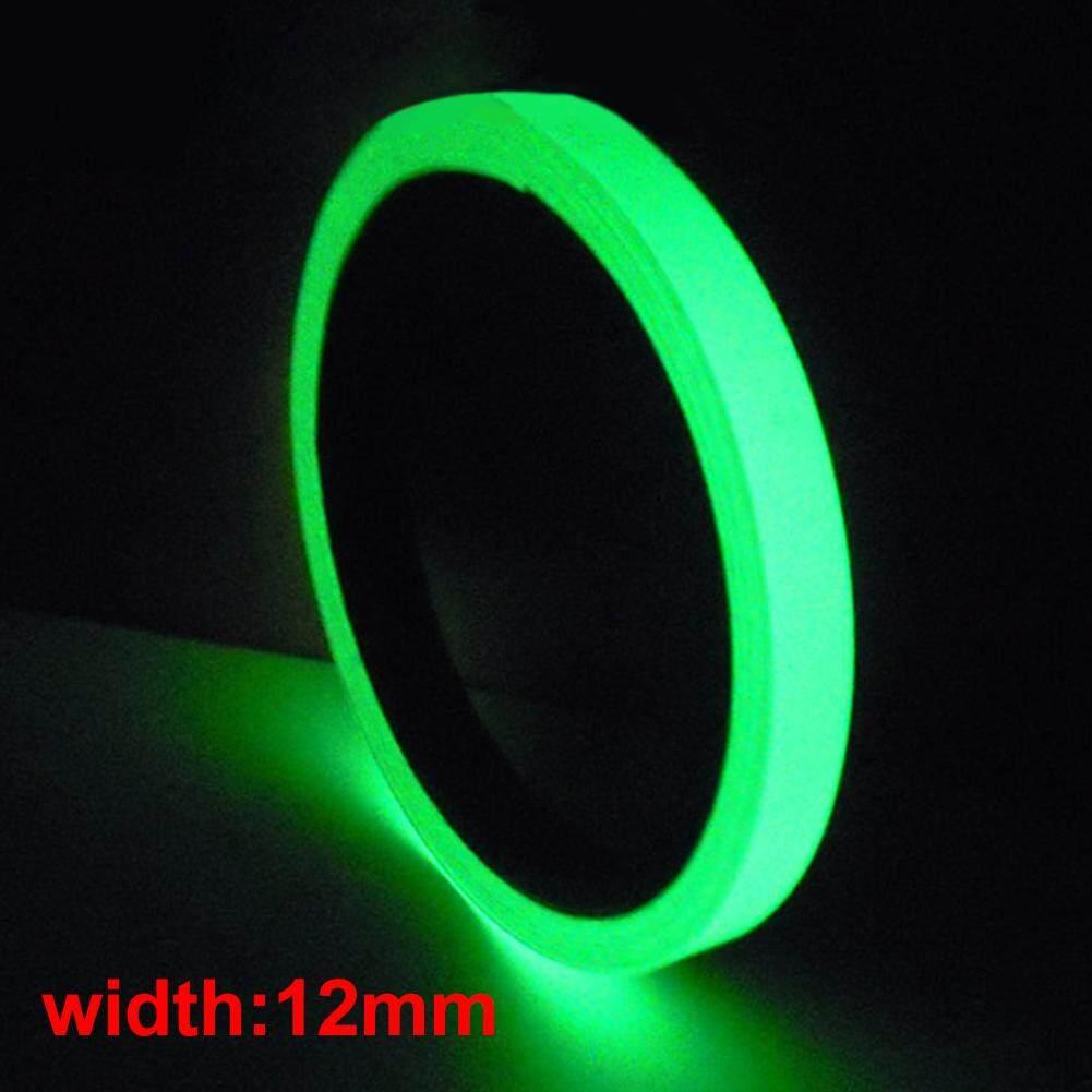 1 Cm/1.2 Cm * 10 M Luminous Tape Tahan Air Self-Adhesive Bercahaya Dalam Gelap Tahap Dekorasi Rumah By Moonarstore.
