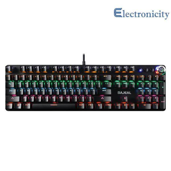 108 Keys Blue Switch Laptop Desktop Mechanical USB Keyboard for Gamers Computer Accessories Singapore