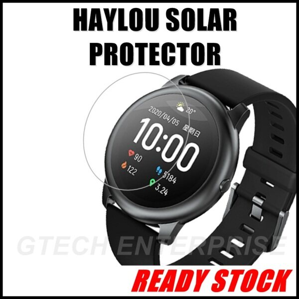 Xiaomi Haylou Solar LS05 Smart Watch Nano TPU Anti Blast UV Anti Blue Tempered Glass Screen Protector Malaysia