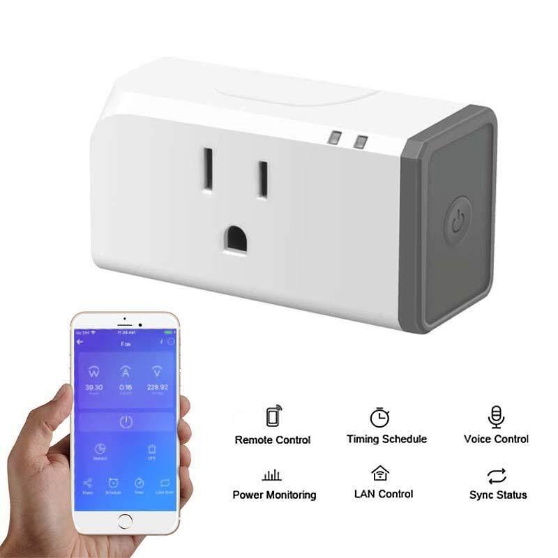 Laztech Sonoff S31 Wifi Nhỏ Gọn Thiết Kế Thông Minh Không Dây Cắm Cắm Ổ Cắm Điện Với Năng Lượng Theo Dõi Theo Tiêu Chuẩn Hoa Kỳ