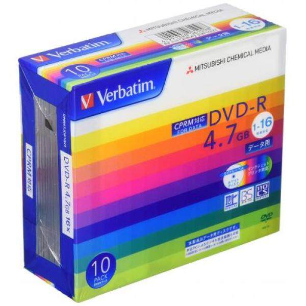 Verbatim Verbatim once for recording DVD-R CPRM 4.7GB 10 sheets white printable single-sided, single-layer 1-16 speed DHR47JDP10V1