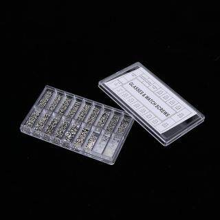 Bộ Dụng Cụ Sửa Chữa Kính Mắt Kloware 1000 Chiếc Ốc Vít Kính Mini U0026 Nuts Với Tua Vít Siêu Nhỏ Cho Kính Mắt, Kính Râm, Đồng Hồ, Trang Sức thumbnail