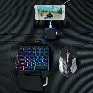 Bộ Chuyển Đổi Chuột Và Bàn Phím Chơi Game PUBG, Bộ Điều Khiển Chơi Game Di Động, Dùng Cho Điện Thoại IOS, iPhone, Android Sang PC, Kết Nối Bluetooth, Cắm Và Chạy thumbnail