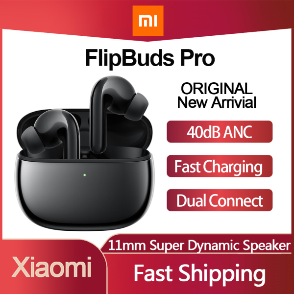 Original 2021 New Xiaomi FlipBuds Pro Flagship Product True Wireless Earbuds Bluetooth ANC Earphone Active Noice Cancelling TWS Singapore