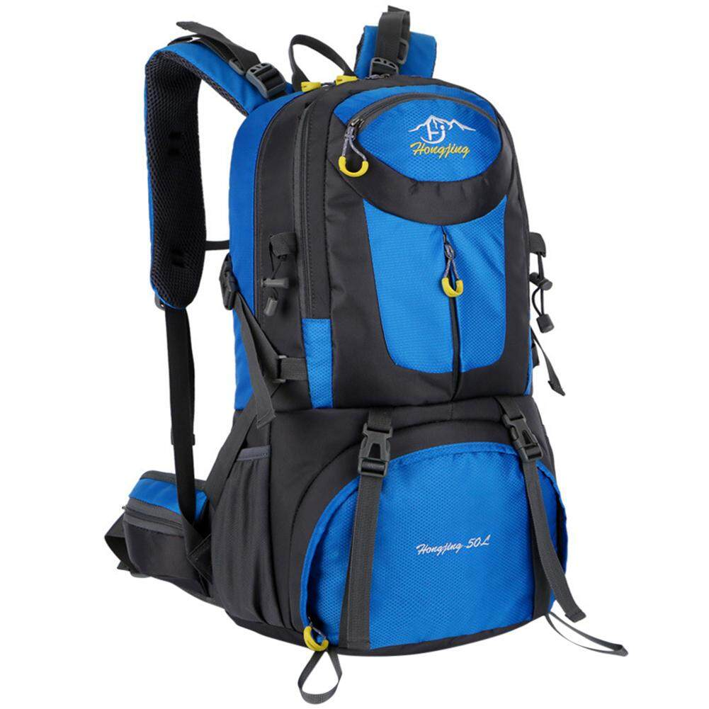 814eb3dbfad2 Redcolourful Outdoor High Strength Hiking Backpacks 50L Sports  Mountaineering Climbing Backpacks