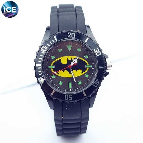ICE Kids/Child/Student Sport and Casual Batman quartz watch Analog Luminous Pointer Watches + Watch Box Best Gift Jam Tangan Malaysia