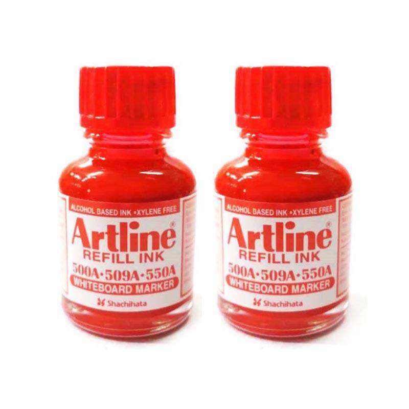 [promo / 2 Bottles] Artline 20cc/ml Refill Ink For Whiteboard Markers 550a / 500a / 509a / 5100a / 5109a / 157r / 159r By A2z Hub.