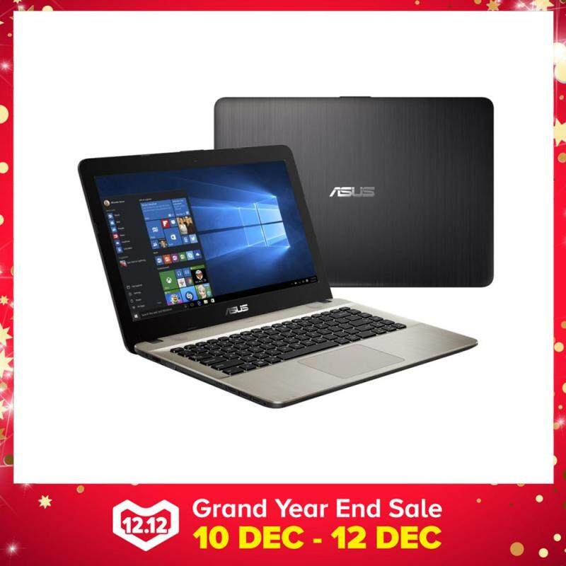 Asus VivoBook Max X441M-AGA041T 14 Laptop Black (Celeron N4000, 4GB, 500GB, Intel, W10H) Malaysia