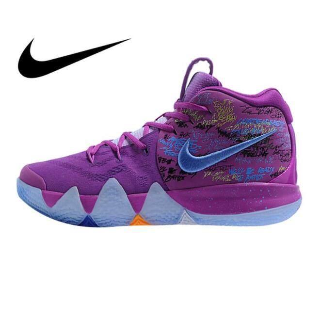 Nike_kyrie 4 Irene Thế Hệ Thứ 4 Giày Chơi Bóng Rổ Nam Màu Tím Chống Mòn Thể Thao Ngoài Trời Thể Thao AJ1691-900 giá rẻ