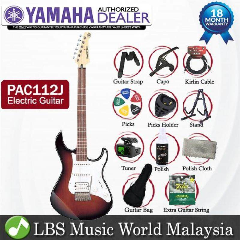 Yamaha PAC112J Alder SSH 6 String Solidbody Electric Guitar Old Violin Sunburst (PAC 112J) Malaysia