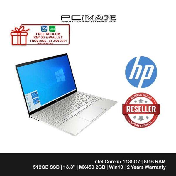 HP Envy Laptop 13-ba1010TX 13.3 FHD (i5-1135G7, 512GB SSD, 8GB, NVIDIA MX450 2GB, W10) Malaysia
