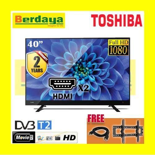 Toshiba 40 Inch LED Full HD TV DBVT2 40L3750VM