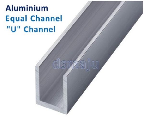Aluminium Equal Channel Aluminium U Channel Aluminium U Frame U Shape