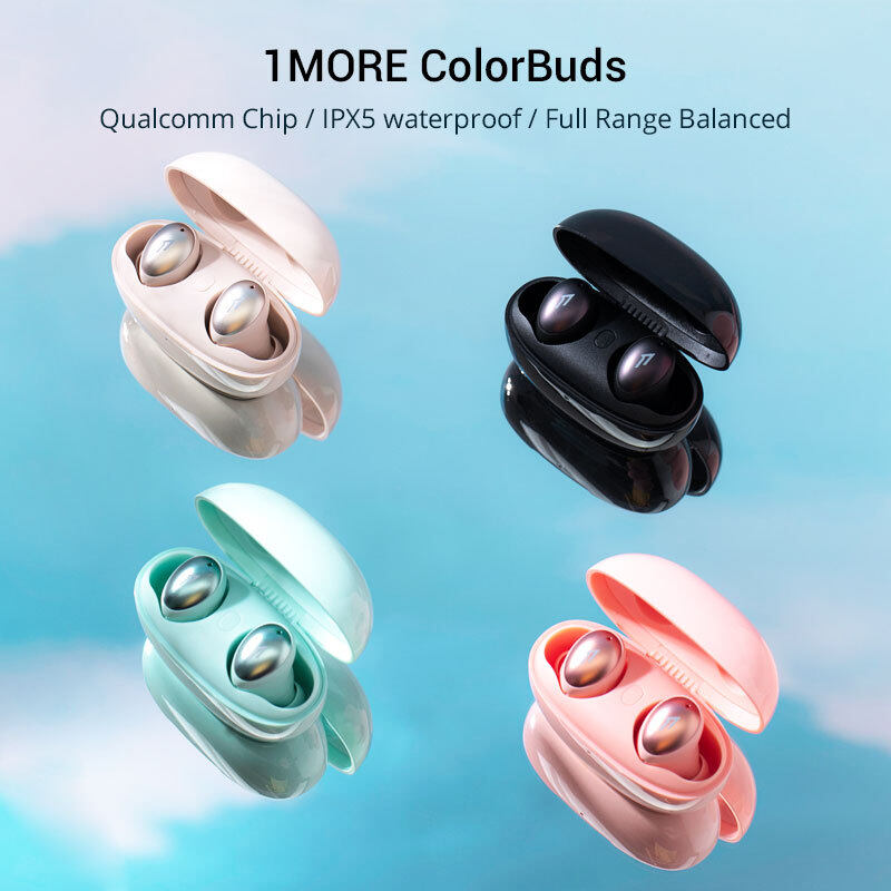 1MORE ColorBuds ESS6001T TWS Fast Charging Bluetooth Wireless In-ear Earphone Support APTX AAC With MIC+Charging Box For Phones Singapore