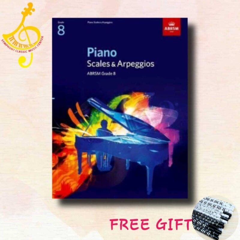 ABRSM Piano Scales & Arpeggios, Grade 8 Malaysia
