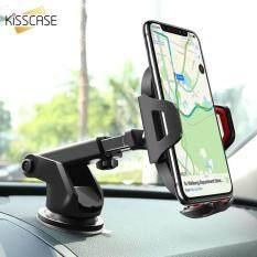 Kisscase Đa Năng Giá Đỡ Điện Thoại Ô Tô Gắn Chân Đế Đứng Dành Cho iPhone X XS Max XR 8 7 Đế Điện Thoại Lỗ Thông Khí Hút giá Đỡ Cho Điện Thoại Trong Ô Tô