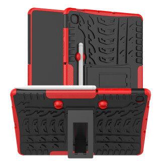 Ốp Lưng Đứng Cho Samsung Galaxy Tab S6 Lite 10.4 SM-P610 SM-P615 Ốp Lưng Bằng Nhựa PC Cứng Chịu Lực Và Nhựa TPU Dẻo Chống Va Đập Có Chân Đế Dùng Ngoài Trời thumbnail