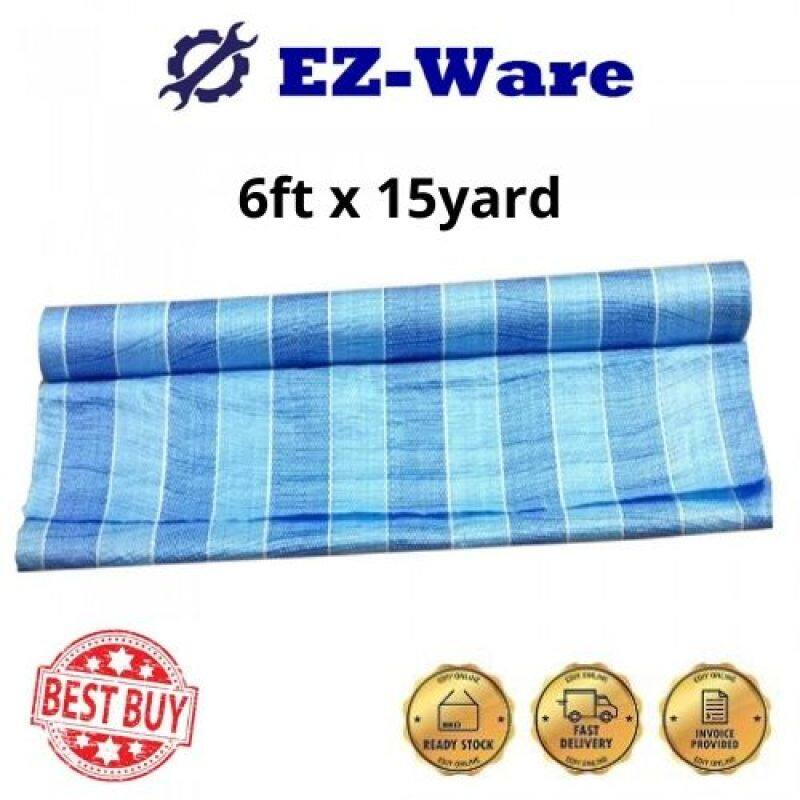 Blue White Canvas Roll Tarpaulin Canopy Kanvas Biru Putih Khemah (6ft x 15yd)