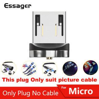 Essager Vòng từ 360 Không có cáp - Phích cắm Micro USB phích cắm C phích cắm Iphone (Nếu bạn không rõ ràng phích cắm nào cho bạn cần, vui lòng liên hệ với dịch vụ khách hàng của chúng tôi) thumbnail