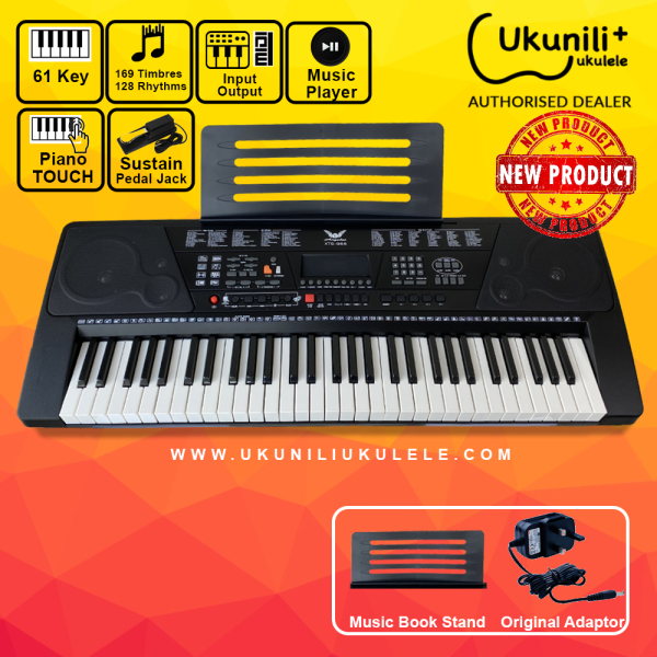 Ukunili Ukulele Angelet XTS-966 61 Key Eletronic Digital Teaching Keyboard Electric Piano Malaysia