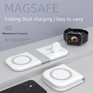 HOCE Bộ Sạc Không Dây MagSafe Từ Tính Cho iPhone 12 13 Pro Max 12 13 Bộ Sạc Magsafe Mini Bộ Sạc Không Dây Qi Nhanh 15W Cho Máy Bay IWatch thumbnail
