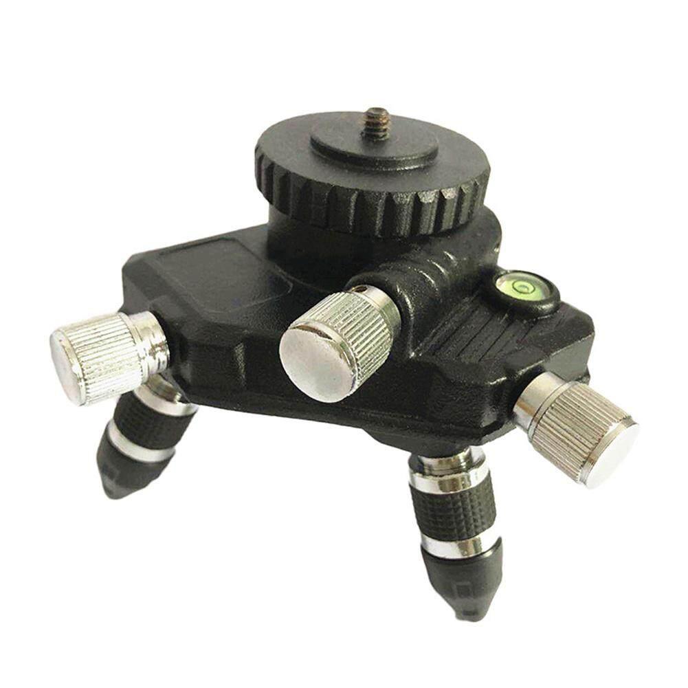 เปลี่ยนเลเซอร์ระดับอลูมิเนียม Mini หมุนปรับแนวนอนขาตั้งกล้อง*.
