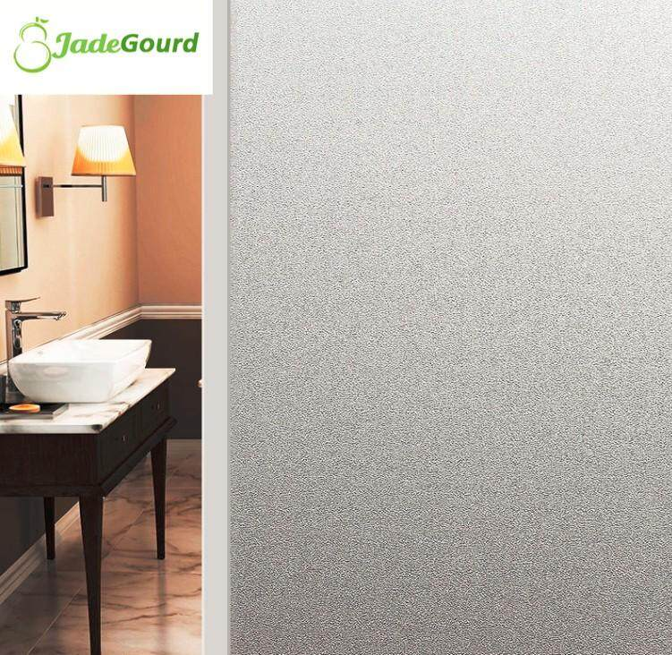 60cmx200cm No Glue Non Self-Adhesive Privacy Protection Frosted Window Film Waterproof Glass Sticker