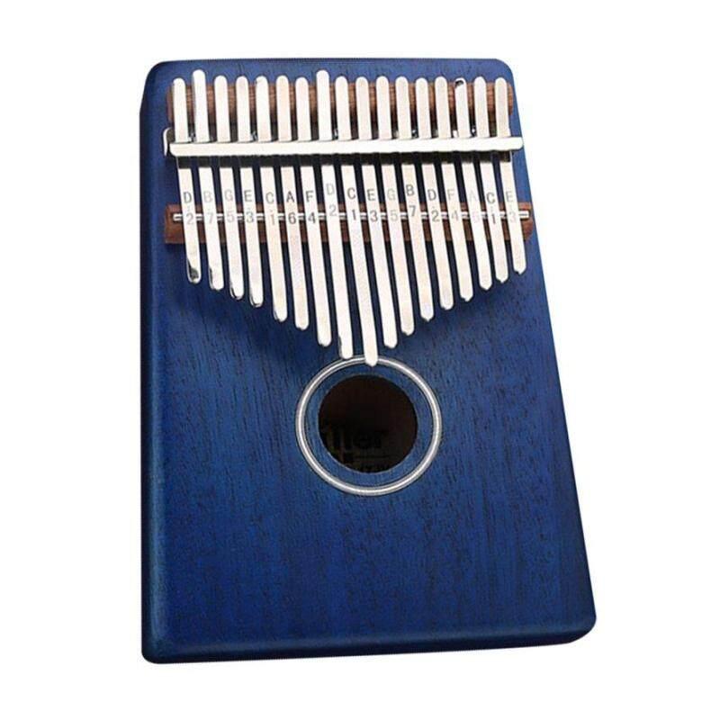 OSMAN 17 Phím Ngón Tay Cái Đàn Piano C Trẻ Em Chiếu Sáng Giáo Dục Kalimba Châu Phi Bỏ Túi