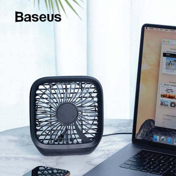 Baseus Có Thể Gập Lại Quạt Nhỏ Cắm USB Lưng Ghế Xe Quạt Làm Mát Di Động Quạt Làm Mát Không Khí Cho Gia Đình Du Lịch Tựa Đầu Xe Hơi Máy Tính Để Bàn Quạt Văn Phòng