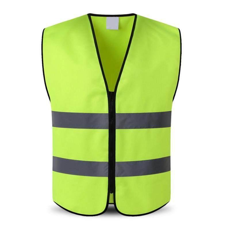 BSD Outdoor Night Riding Running Hi-Vis Safety Vest Reflective Jacket Security Waistcoat