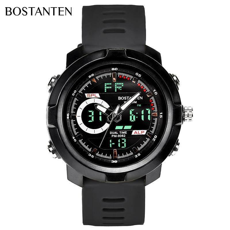 BOSTANTEN Mens Watch On Sale Waterproof Watch For Men BOSTANTEN Original Watches Latest Digital Sport Wristwatch-2222K Malaysia