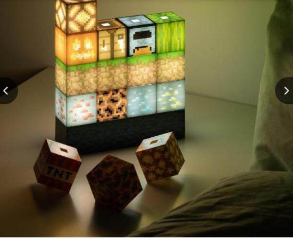 Bảng giá Đèn Khâu Tùy Chỉnh, Đèn Khối Vuông Đèn Khâu Mới Lạ Sáng Tạo Tự Làm Minecraft