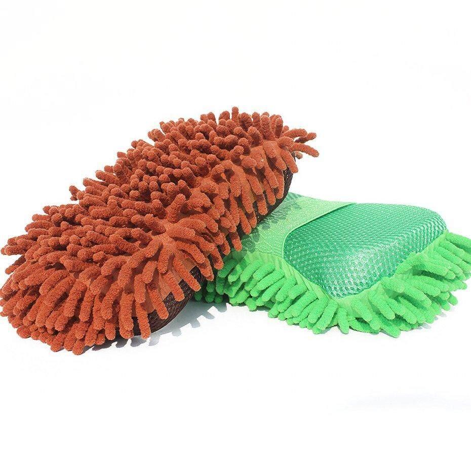 FCU Car Washing square Car Cleaning Ultrafine Fiber Glove Car Wash Glove Car Cleaning Tool Car Accessories