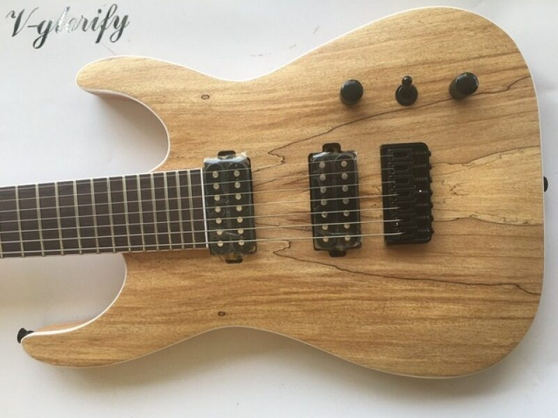 high quality 7 string electric guitar map wood top Malaysia
