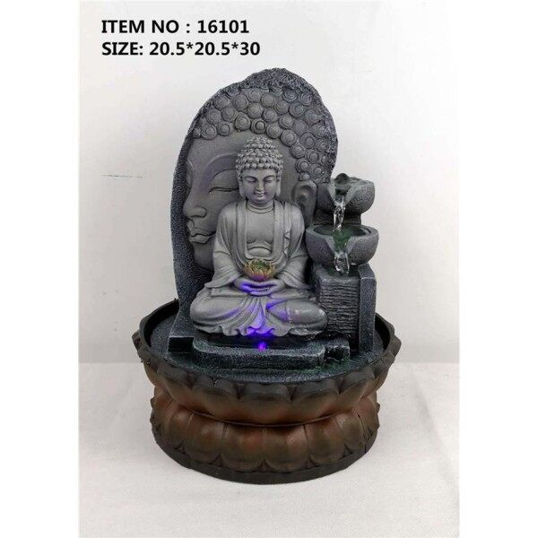 WATER FOUNTAIN - BUDDHA LX16101 FENG SHUI WATER FEATURES FOUNTAINS