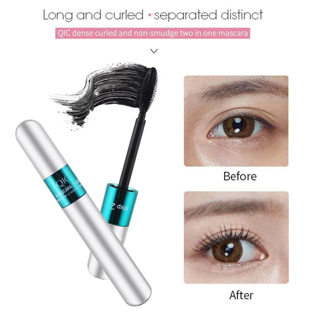 Aolvo 4D Mascara Double Head Waterproof Long Curling And Not Blooming Eye Makeup