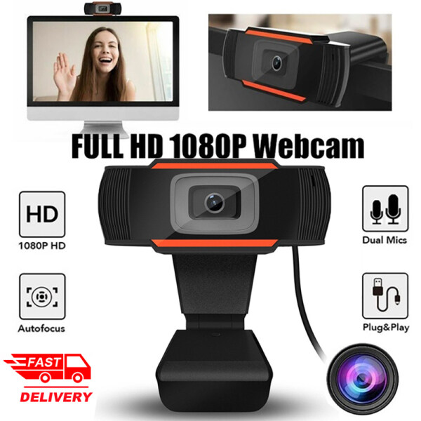 【Ready stock】1080P HD Webcam With Microphone 720P/480P USB 2.0 Camera Video Recording Web Cam For PC Computer Laptop
