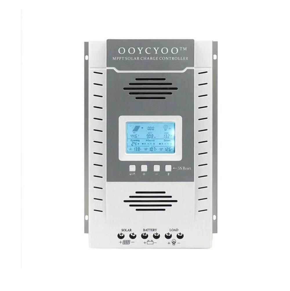 Y/&H 60A MPPT Solar Charge Controller Max 96V Input Solar Panel,12V 24V Battery Regulator of LCD USB Bulk Floating Constant Charger
